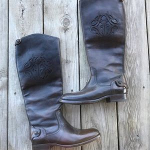 FRYE Leather Boots Size 5.5
